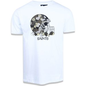 Camiseta New Orleans Saints Camo Helmet - New Era