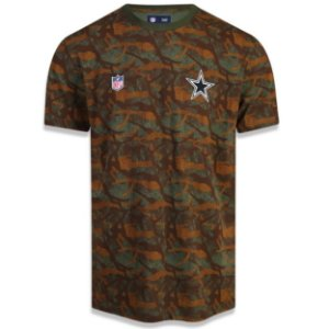 Camiseta Dallas Cowboys Revisited Camuflada - New Era