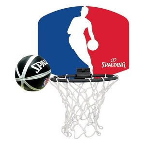 Micro Kit Tabela Basquete Hoop Set NBA - Spalding