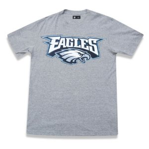 Camiseta Philadelphia Eagles Basic Cinza - New Era