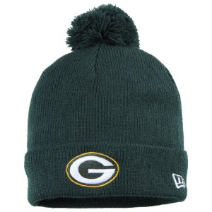 Gorro Touca Green Bay Packers Green Pom Pom - New Era