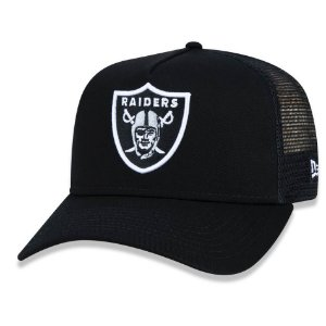 Boné Oakland Raiders 940 A-Frame Trucker Logo - New Era