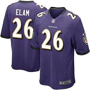 Camisa Jersey Nike Baltimore Ravens MAS Game Matt Elam