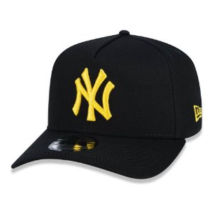 Boné New York Yankees 940 Veranito Logo Preto/Amarelo - New Era
