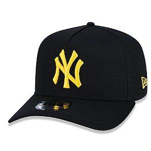 Boné New York Yankees 940 Veranito Logo Preto/Amarelo - New Era