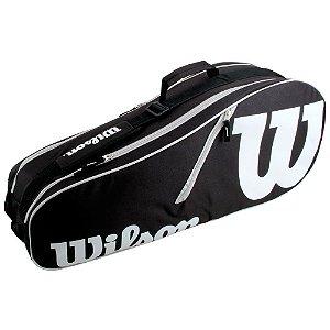 Raqueteira Wilson Advantage II X6 Preta