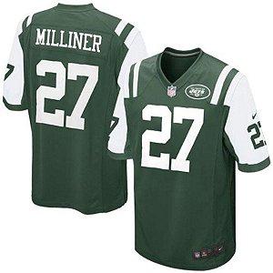 Camisa Jersey Nike New York Jets MAS Game Dee Milliner