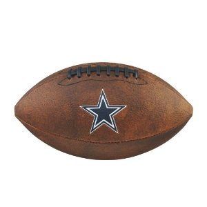 3b28db457 Bola Futebol Americano Dallas Cowboys Throwback - Wilson