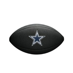 Bola Futebol Americano Dallas Cowboys Team Logo Black - Wilson