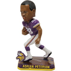 Jogador Player Bobble Adrian Peterson 28 Minnesota Vikings