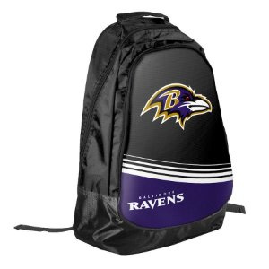 Mochila Stripe Core Baltimore Ravens