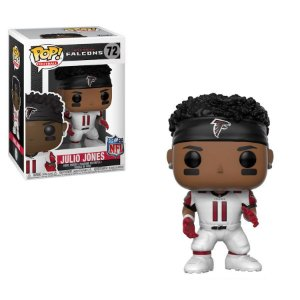 Funko Pop Julio Jones 11 Uniforme Branco Atlanta Falcons