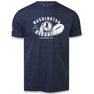 Camiseta Washington Redskins Versatile Arte Ball - New Era