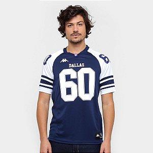 Camiseta Jersey Kappa Dallas 60 Azul