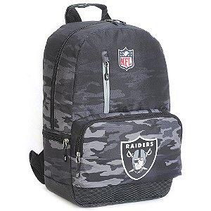 Mochila Oakland Raiders Militar NFL