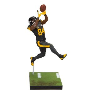 Boneco Player Figurine Antonio Brown 84 Pittsburgh Steeler