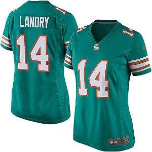 Camisa Jersey Nike Miami Dolphins Jarvis Landry Feminina