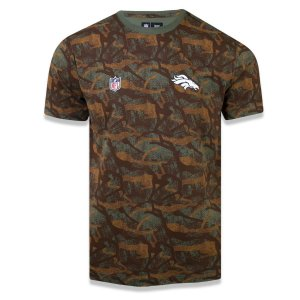 Camiseta Denver Broncos Revisited Camuflada - New Era