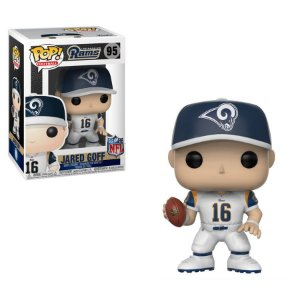 Funko Pop Jared Goff 16 Los Angeles Rams