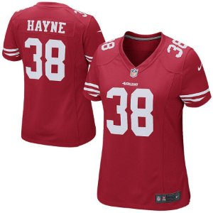 Camisa Jersey Nike San Francisco 49ers Game Jarryd Hayne Feminina