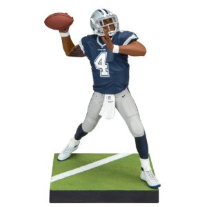 Boneco Player Figurine Dak Prescott 4 Dallas Cowboys