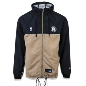 Jaqueta Windbreaker Quebra vento Brooklyn Nets Sport School - New Era