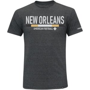 Camiseta First Down New Orleans Futebol Americano