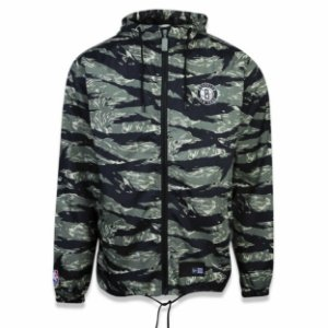 Jaqueta Windbreak Quebra vento Brooklyn Nets Tiger - New Era