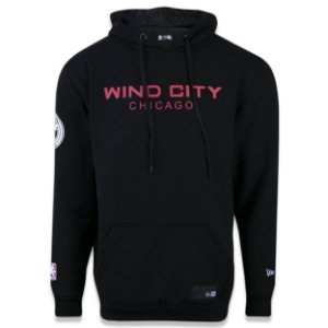 Casaco Moletom Chicago Bulls Wind City - New Era