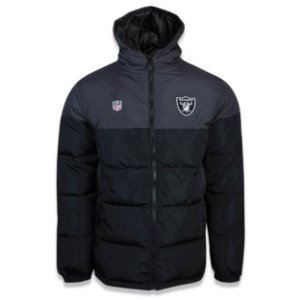 Jaqueta Bomber Oakland Raiders Sports Recorte - New Era