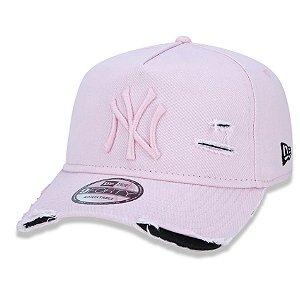 Boné New York Yankees 940 Damage Destroyed Rosa - New Era