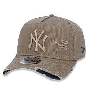 Boné New York Yankees 940 Damage Destroyed Marrom - New Era