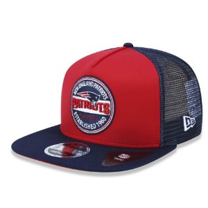 Boné New England Patriots 950 Destroyed Carimbo - New Era
