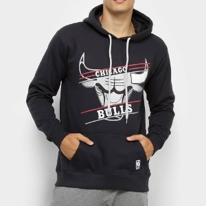 Casaco Moletom Chicago Bulls  Basic - NBA