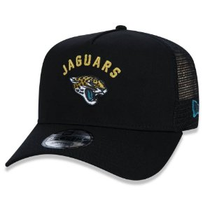 Boné Jacksonville Jaguars 940 Basic Trucker A-Frame - New Era