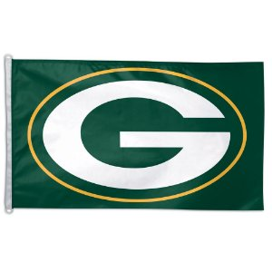 Bandeira Grande 90x150 NFL Green Bay Packers