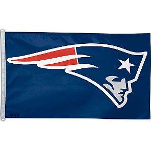 Bandeira Grande 90x150 NFL New England Patriots