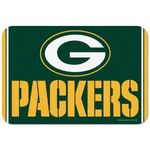 Tapete Decorativo Boas-Vindas NFL 51x76 Green Bay Packers