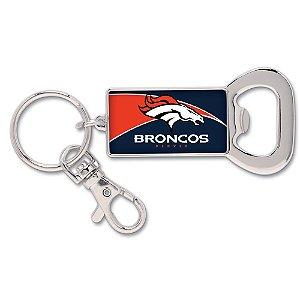 Chaveiro Abridor de Garrafas NFL Denver Broncos