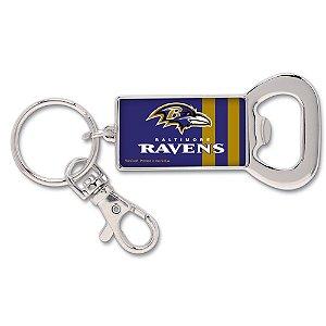 Chaveiro Abridor de Garrafas NFL Baltimore Ravens