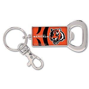 Chaveiro Abridor de Garrafas NFL Cincinnati Bengals