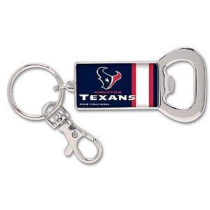Chaveiro Abridor de Garrafas NFL Houston Texans