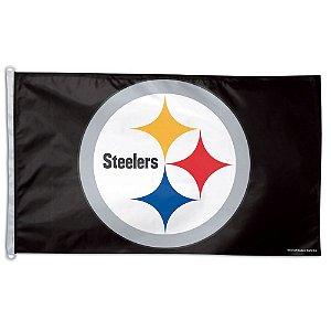 Bandeira Grande 90x150 NFL Pittsburgh Steelers