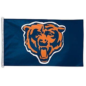 Bandeira Grande 90x150 NFL Chicago Bears