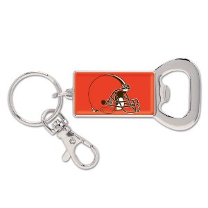 Chaveiro Abridor de Garrafas NFL Cleveland Browns