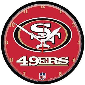 Relógio de Parede NFL San Francisco 49ers 32cm