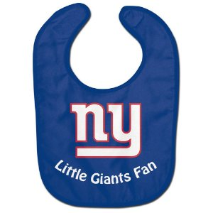 Babador Infantil Pequeno Fã New York Giants