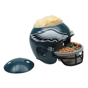 Capacete Snack Helmet Aperitivos GameDay Philadelphia Eagles