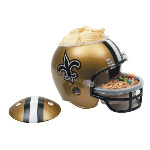 Capacete Snack Helmet Aperitivos GameDay New Orleans Saints