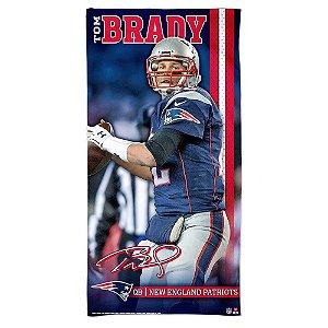 Toalha de Praia e Banho Tom Brady New England Patriots